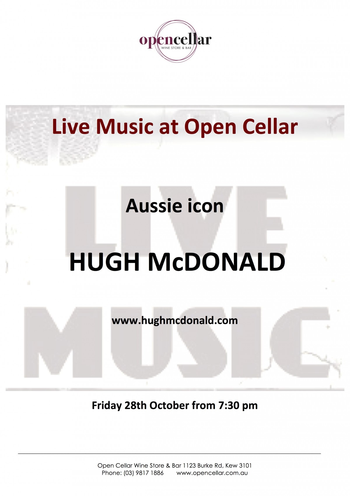 Hugh McDonald 281016