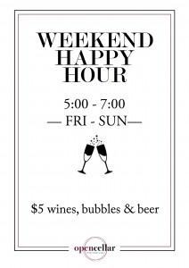 Happy Hour Promo