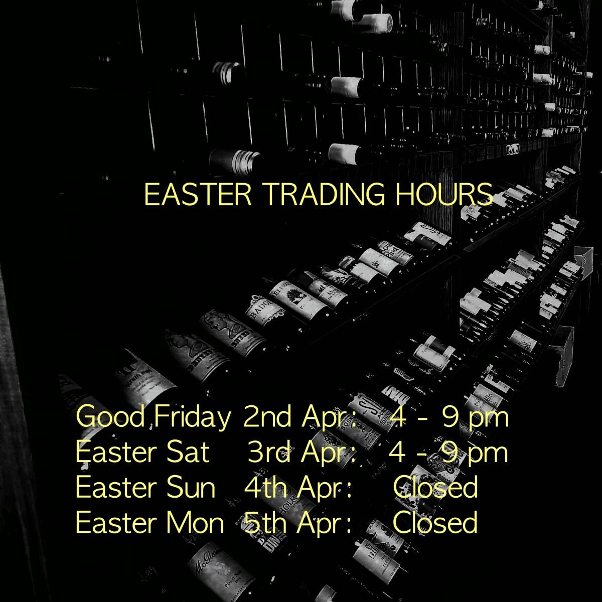 Easter Trading 2021